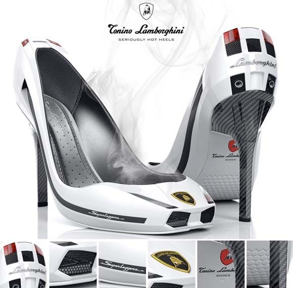 Lambo shoes – Seriously Hot Heels (5 pics)