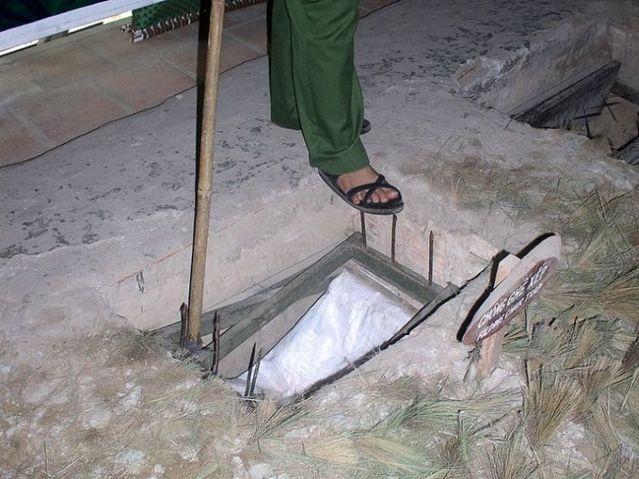 Viet Cong traps during the Vietnam war (22 pics)