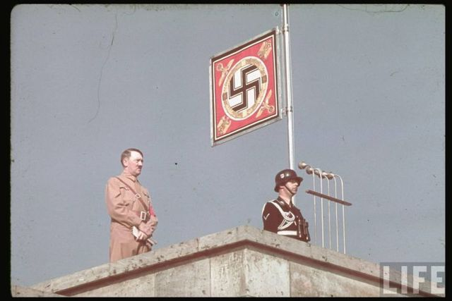 Nazist Germany in color pictures (101 pics)