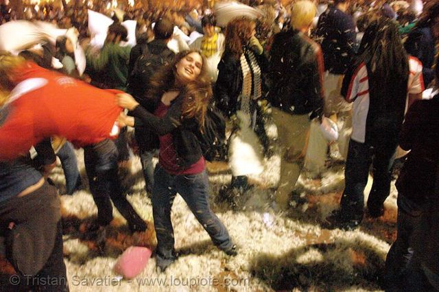 Great Pillow Fight (62 pics)