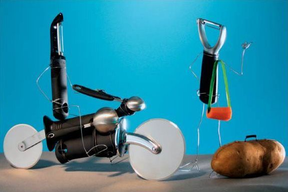 "Greatest creative works ""Bent Objects"" (56 pics)"