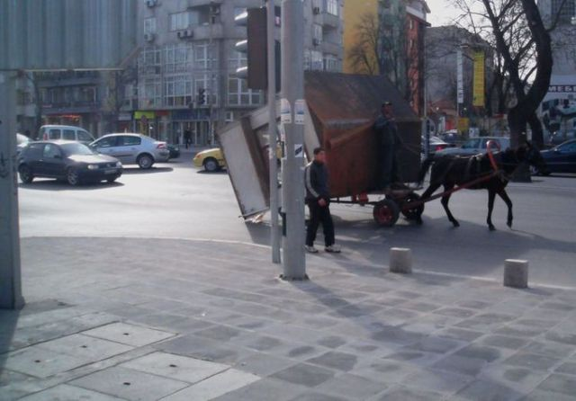 How they transport things in Bulgaria (3 pics)