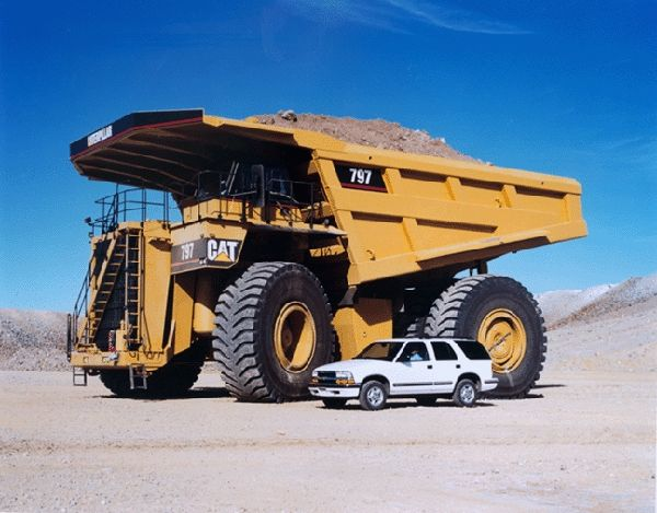 Four wheel giants (33 pics)