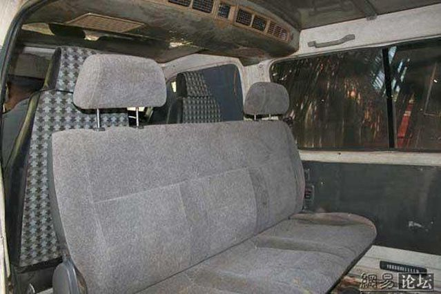 Bulletproof car from Somalia for VIP (8 pics)