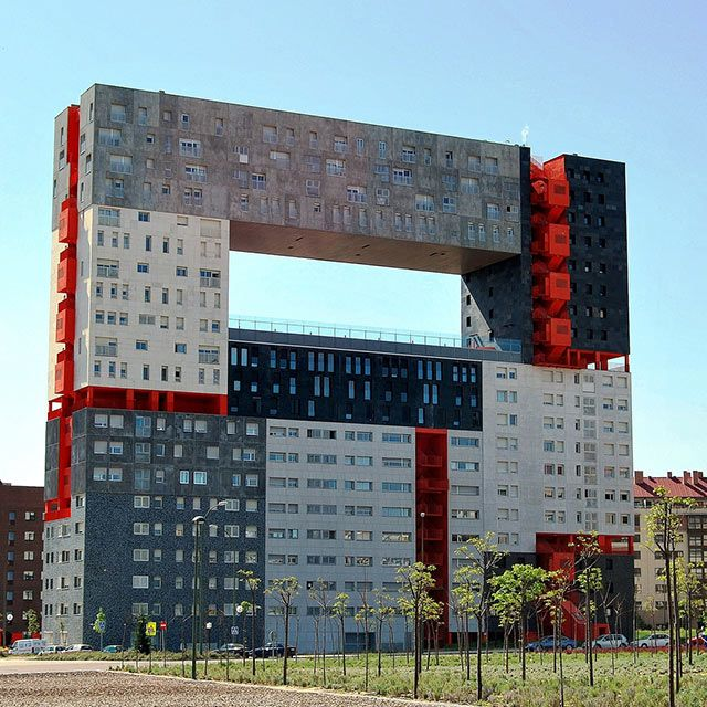 The most unusual buildings (84 pics)
