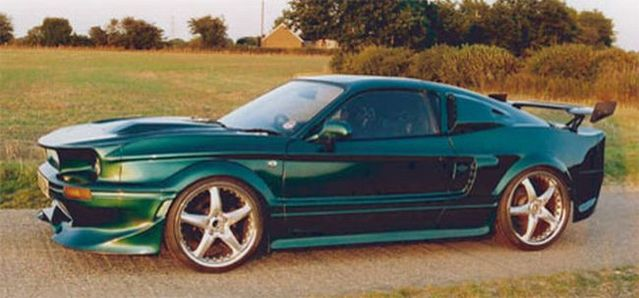 "Self-made Shelby GT500 from ""Gone In 60 Seconds"" (9 pics)"