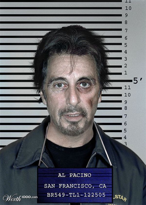 Photomontage – Celebrity mugshots (37 pics)