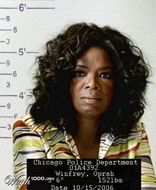 Photomontage – Celebrity mugshots (37 pics)