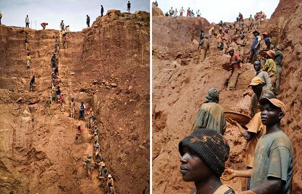 The gold mining in the Congo (15 photographs)