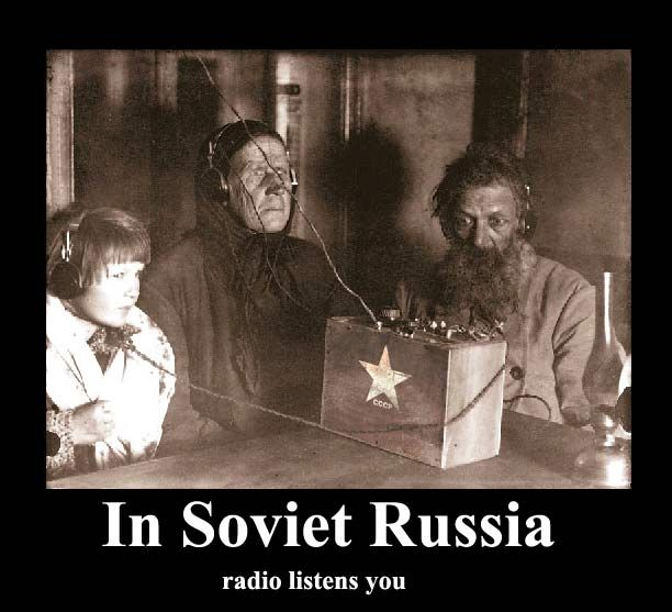 Funny photomontage – village radio (12 pics)