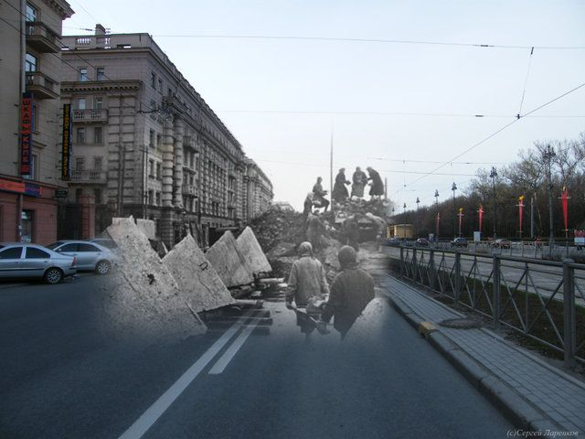 Leningrad: back then and now (99 pics)