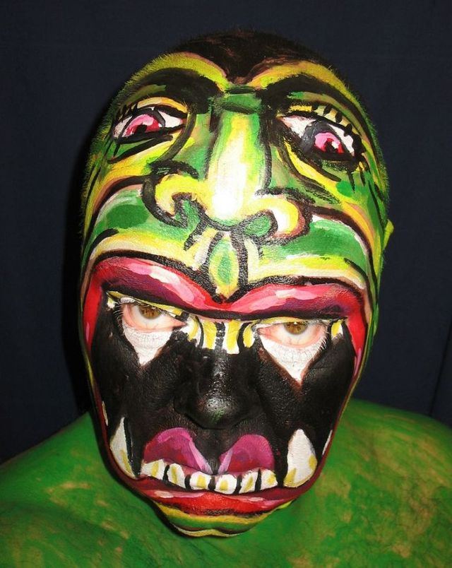 Face painting. The best works (47 pics)