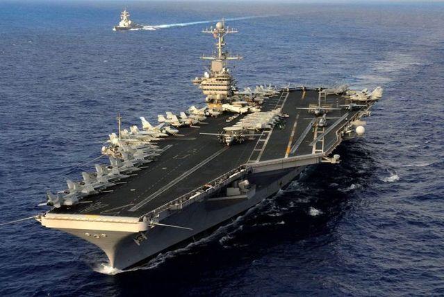 Wow! American nuclear-powered supercarrier USS John C. Stennis (CVN-74) (17 pics)