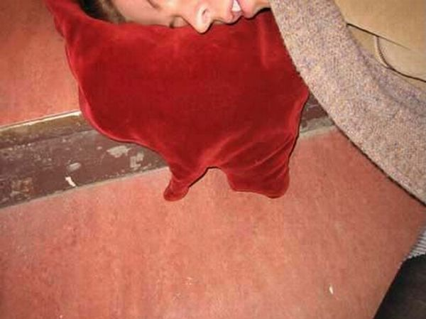 Blood puddle pillow (9 pics)