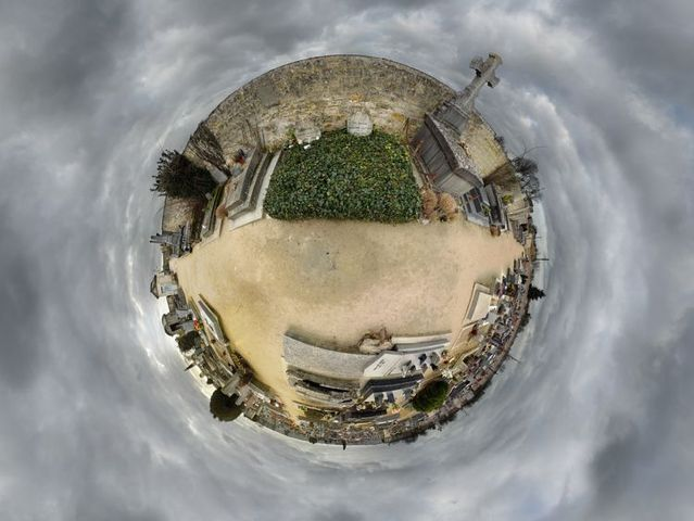 Wee Planets: 3D panoramic photographs of Paris (31 pics)