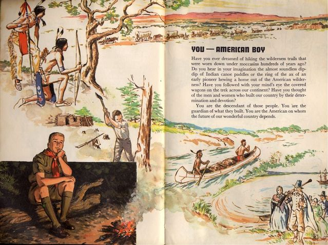 1965 Boy Scout Handbook (16 images)