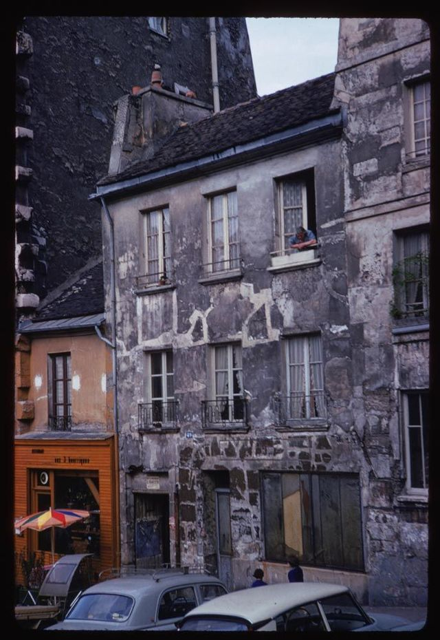Retro pictures of French cities (60 pics)