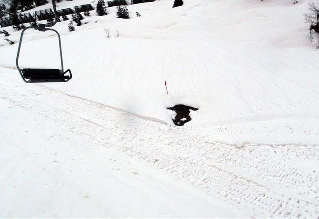 Where did the skier go? (3 pics)