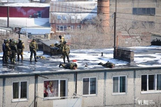 How Spetsnaz deals with terrorists in Russia (31 pics)