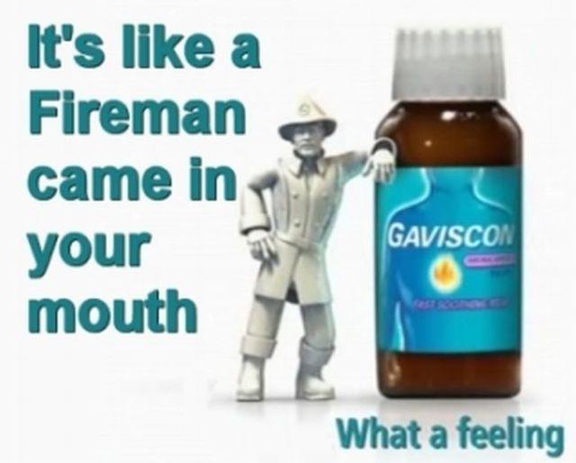 LOL! Genius ad for the heartburn medication (6 pics)