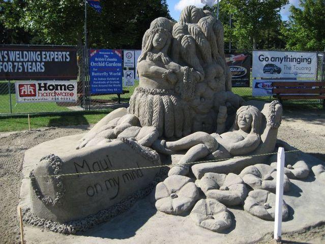 Sand sculptures (59 pics)