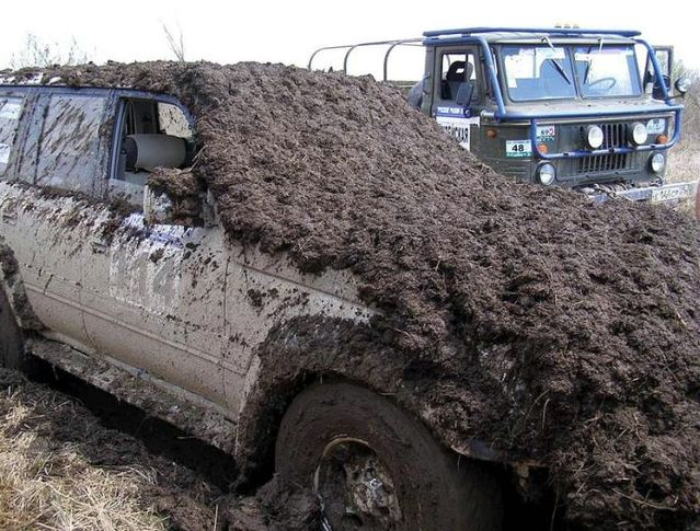 Story about a dirty Jeep (2 pics)