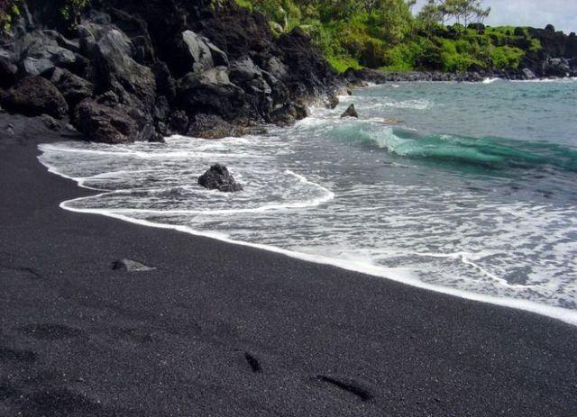 Five most wonderful color beaches
