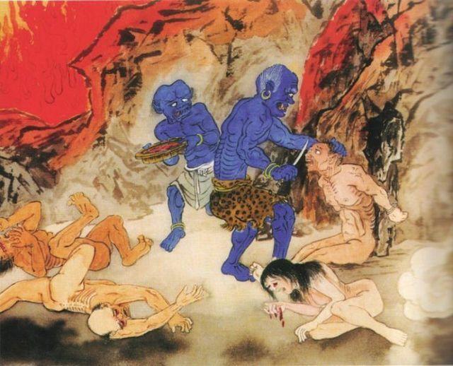 Buddhist Hell (60 pics)
