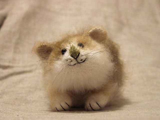 Cute animal handmade toys (55 pics)