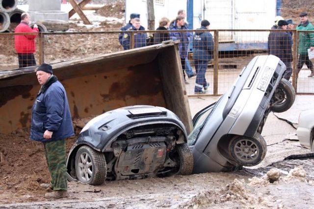 Russian dangerous roads (19 pics)
