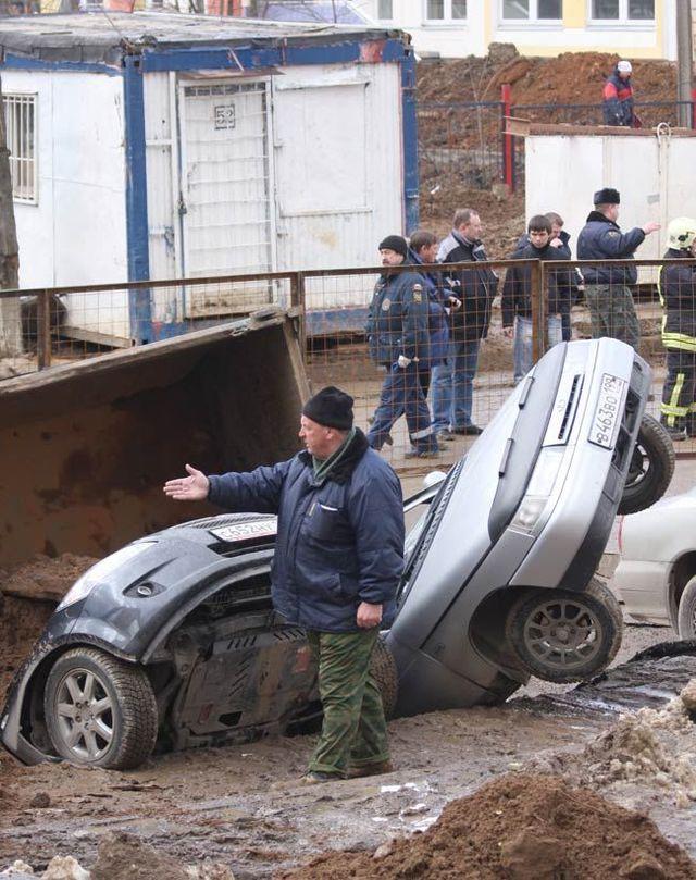 Russian dangerous roads (19 pics)
