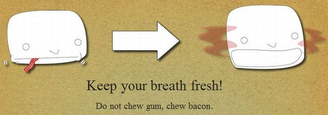 How to use bacon (13 pics)