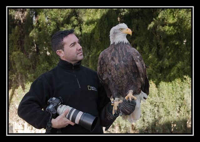 Flying with eagle (11 pics + 1 video)