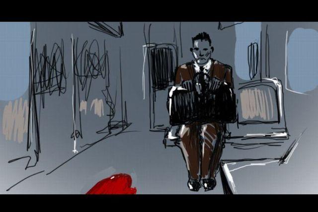 Drawn movie scenes (41 pics)