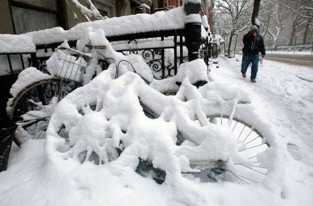 Snowfalls in March in the United States (36 pics)