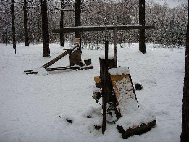 Outdoor gym (19 pics)