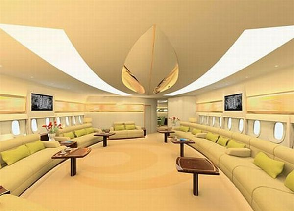 Most luxurious aircraft cabins and interiors (48 pics)
