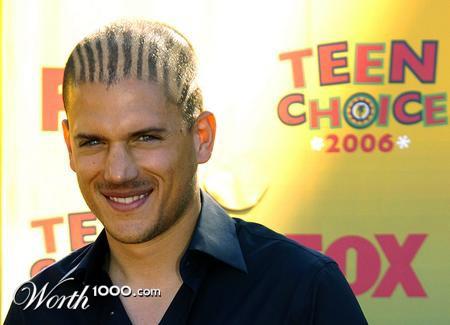 "Photomontage: ""Celebrity's haircuts"" (50 pics)"