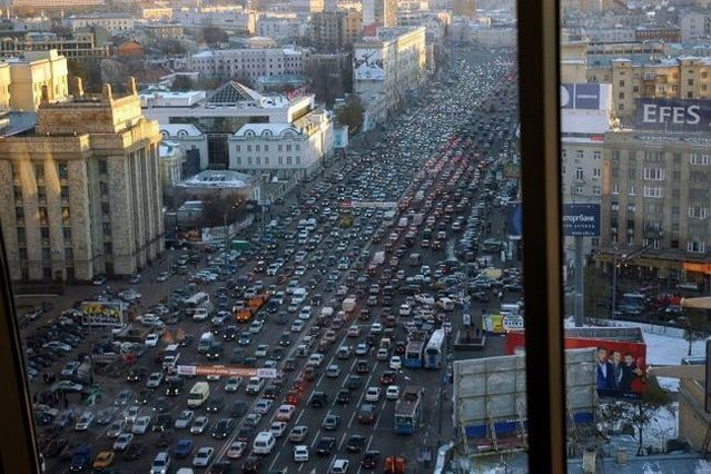 Traffic jam (72 photos)