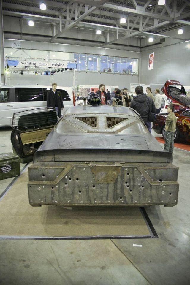 Chevrolet Camaro transformed into Death Race (26 pics)
