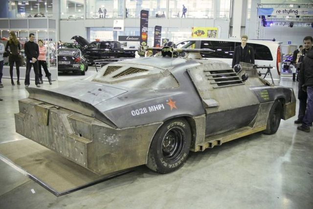 Chevrolet Camaro transformed into Death Race (26 pics)