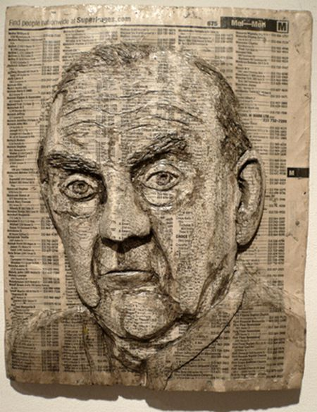 Art on carved phonebooks (40 pics)