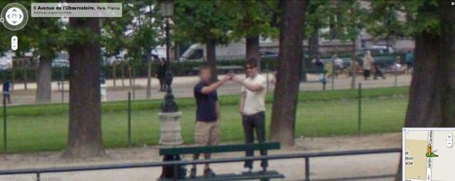 20 Crimes Caught On Google Street View 46 Pics