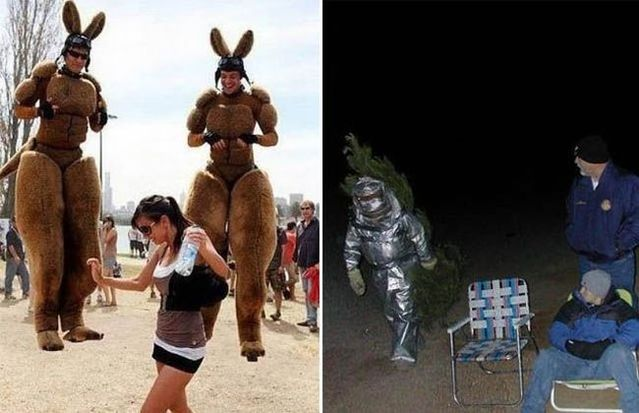 Freaks are around us (72 pics)