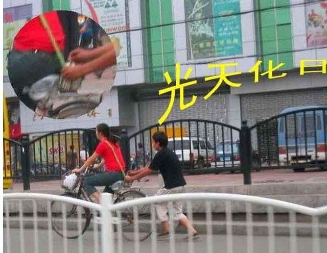 Chinese pickpockets (19 pics)