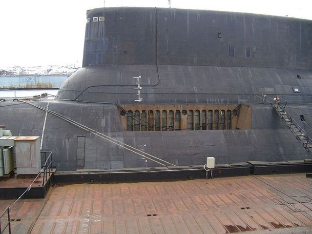 The largest submarine in the world (89 pics)