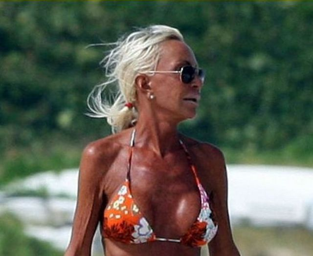 donatella versace plastic surgery. donatella versace photo