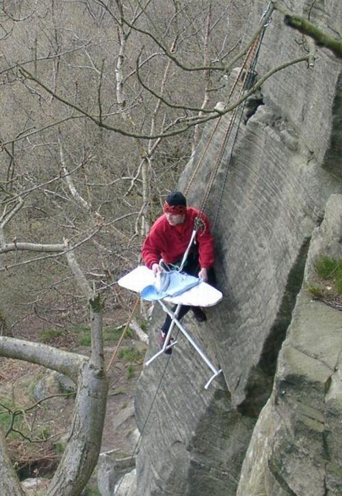 Extreme ironing (42 pics)
