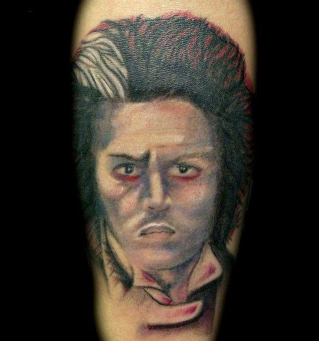 Tattooed portraits (42 pics)