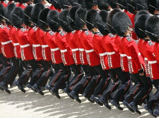 Funny military parades from around the world (23 pics)